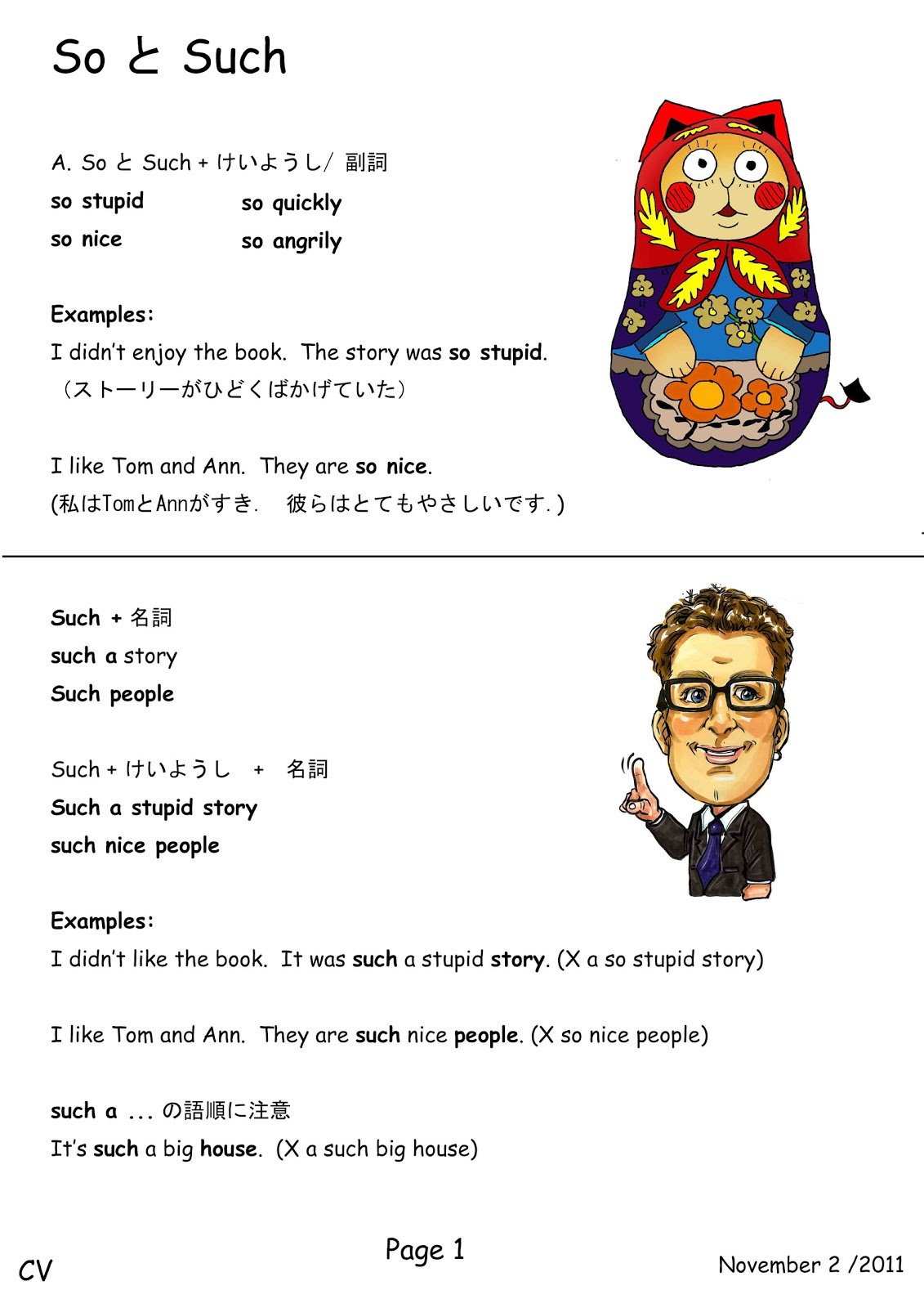 Canadian Voice English School Nagano So And Such