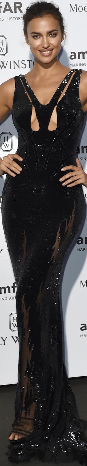 Irina Shayk 2015 amfAR Gala