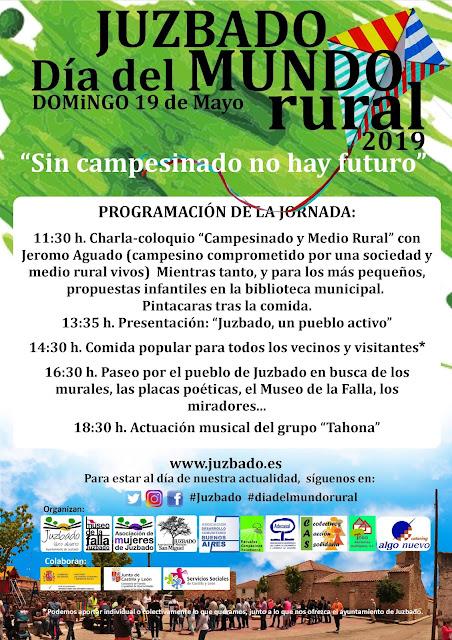 Juzbado, día del mundo rural, españa vaciada, juzbado 2019