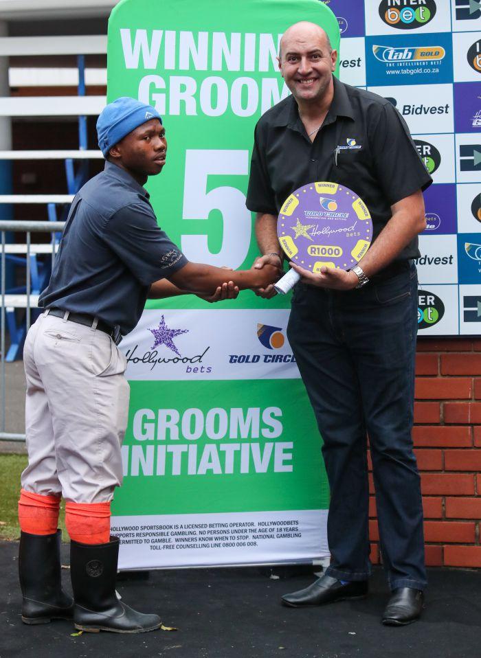 Grooms Initiative Winner - 26th December 2019 - Race 9 - Akhona Matwa - BLUSHING DIAMOND