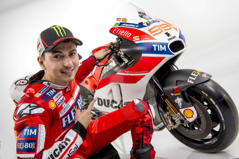 Kedatangan Jorge Lorenzo Menghidupkan Antusiasme Ducati