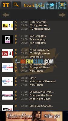 YuppTV 1 0 - Indian TV Channels - Nokia N8 - S^3 - Anna - Belle