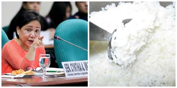 Sen. Cynthia Villar wants to ban unli-rice promo
