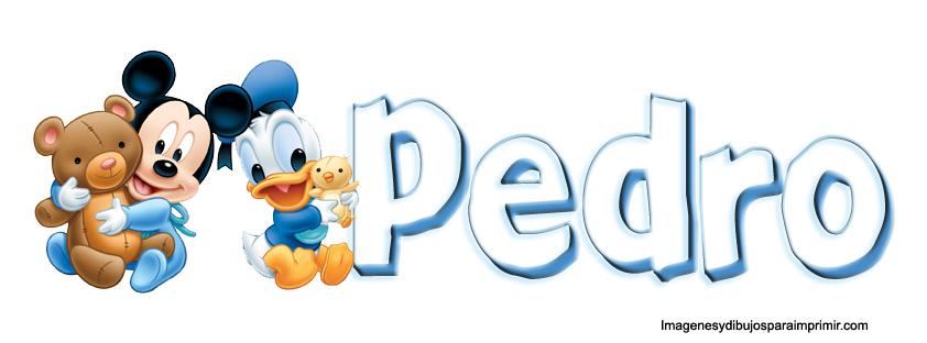 Dibujos De Bebes Disney Para Imprimir: Nombres Con Dibujos Disney Para Imprimir