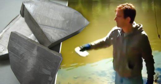 Esto es lo que pasa cuando lanzas sodio al agua