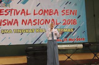 Hasil FLS2N SMA Tingkat Kabupaten Banyumas Tahun 2018