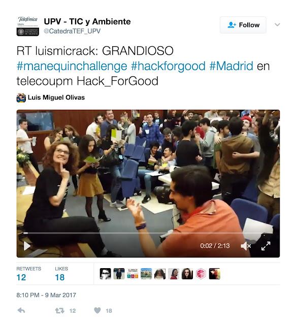 HackforGood mannequin challenge