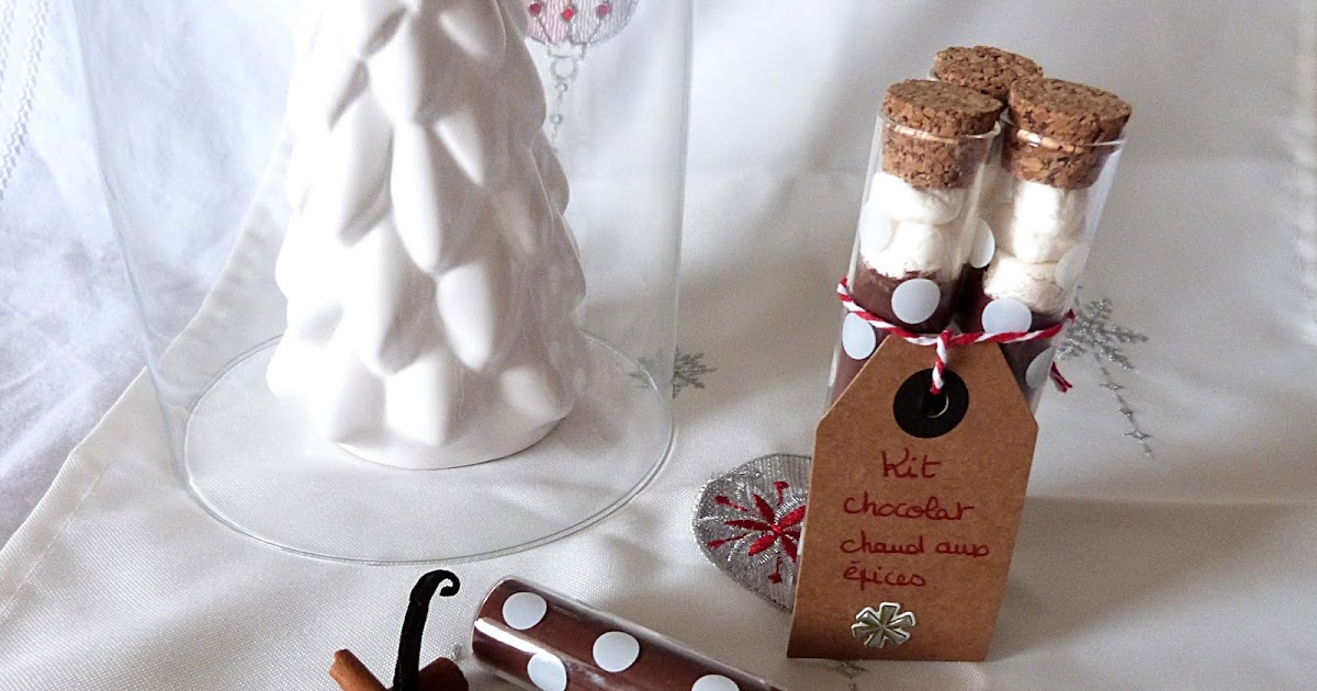 dans la cuisine d 39 hilary chocolat chaud aux pices offrir id e cadeau gourmand jour 9. Black Bedroom Furniture Sets. Home Design Ideas