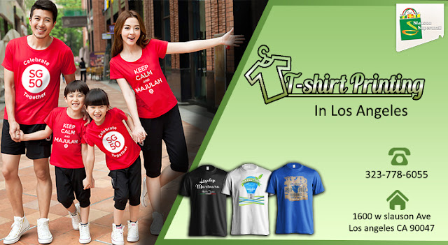 t-shirt printing in los angeles