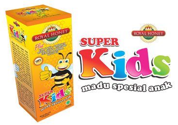 Madu Natural Royal Honey Super Kids Madu Khusus Anak