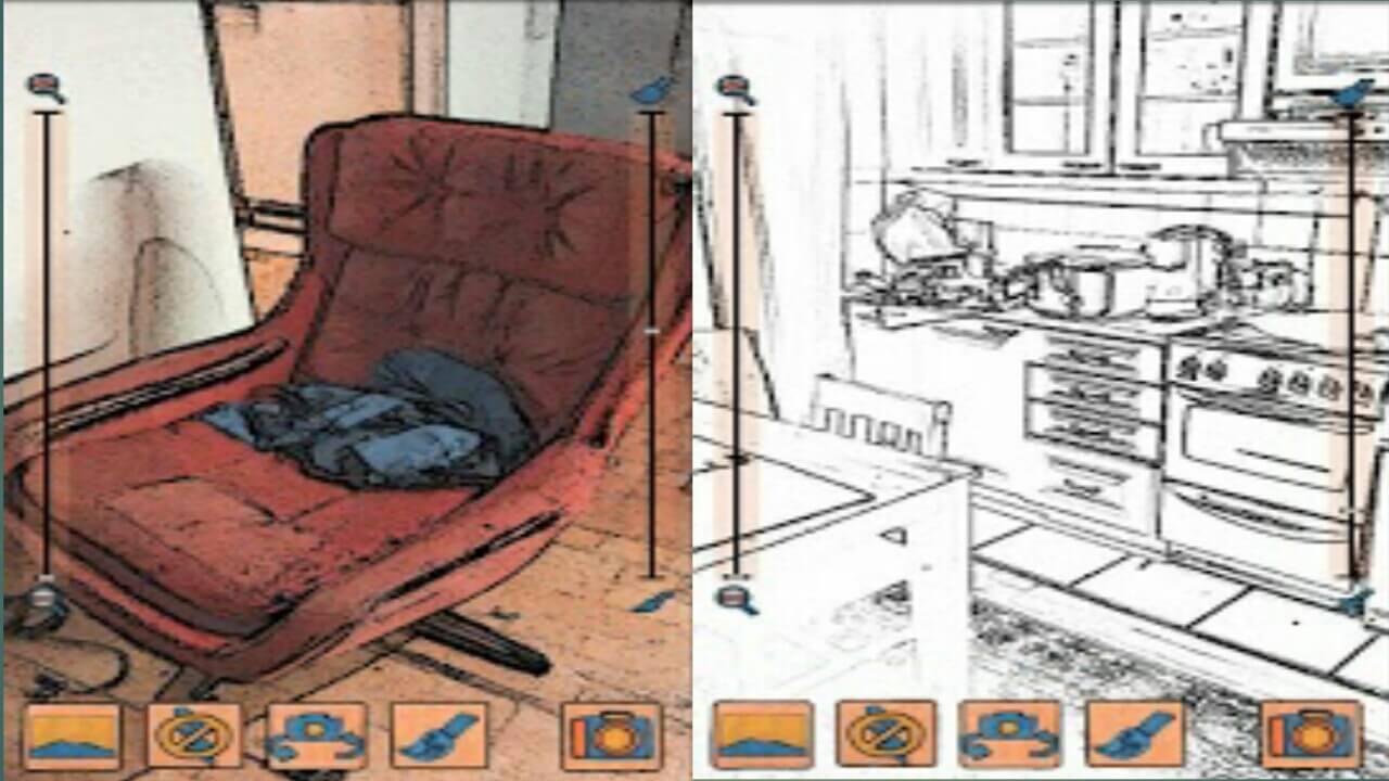 تطبيق cartoon camer