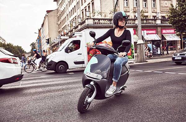 Gogoro與德國BOSCH集團合作,8月起在柏林街頭供民眾租借騎乘。圖/睿能提供