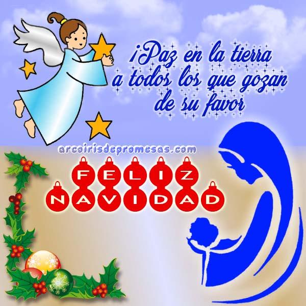 paz en la tierra mensajes de navidad con imágenes arcoiris de promesas