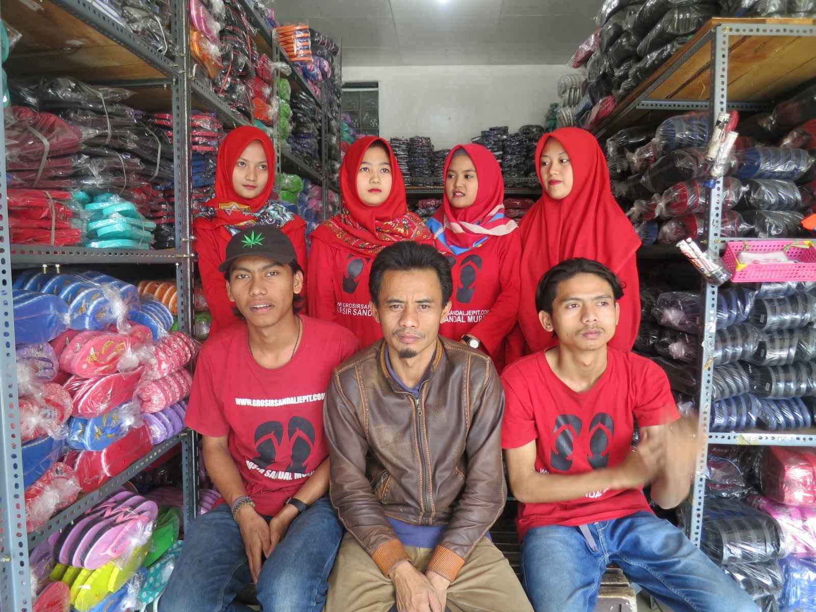 sandal murah distributor pabrik