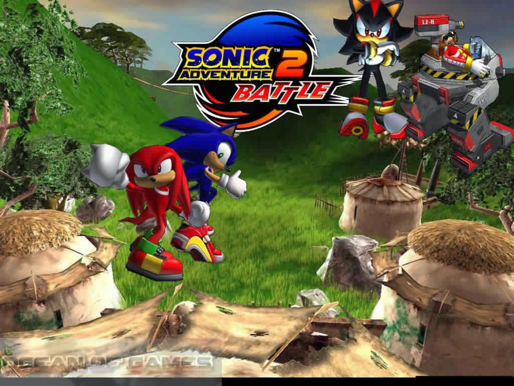 download sonic adventure 2 battle free pc - ألعاب