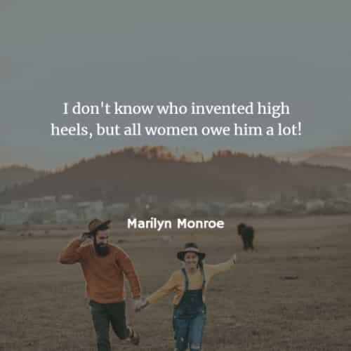 Famous quotes and sayings by Marilyn Monroe