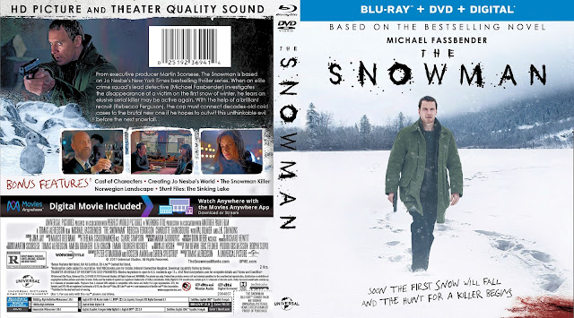 The Snowman Bluray/DVD Cover