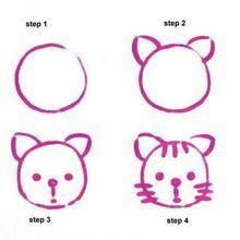Cara Mudah Menggambar Kucing Untuk Anak-Anak