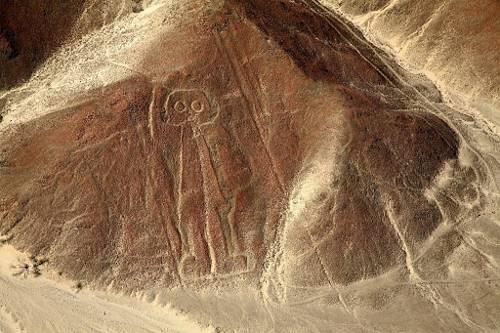 «El Astronauta» de Nasca, Perú.