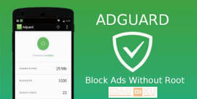 cara hilangkan iklan popup xiaomi dengan adsguard