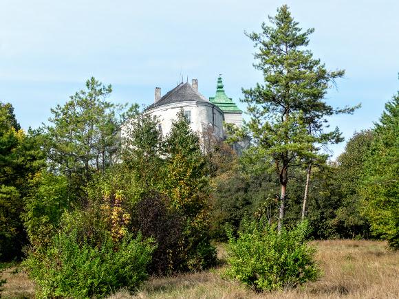 Олеский замок. Парк