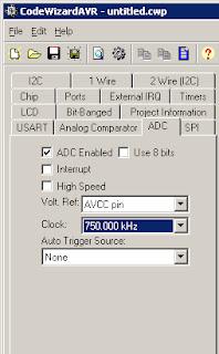 Memprogram ADC Mikrokontroler ATMEGA 8535 dengan Codevision AVR