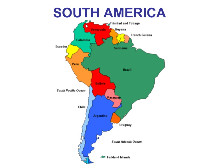 a reprise of blog posts from all over the map of south america