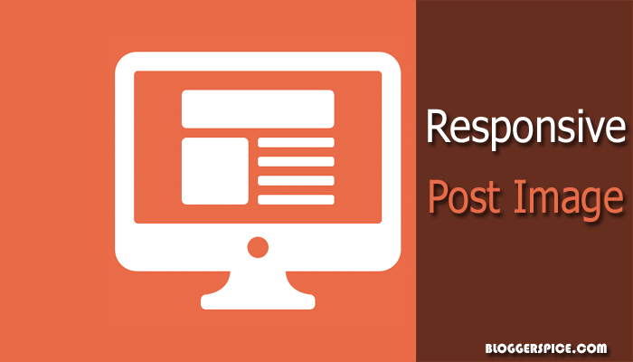 make post image responsive