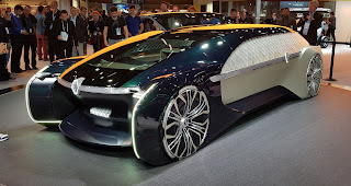 Renault EZ-Ultimo Concept car 2018