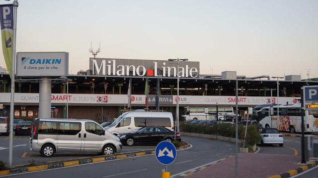 Aluguel de carro no aeroporto do Milão