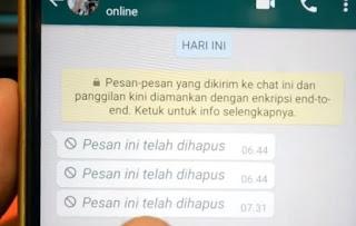 Cara Baru Mengembalikan Chat WhatsApp yang Terhapus (Trik Baru!)