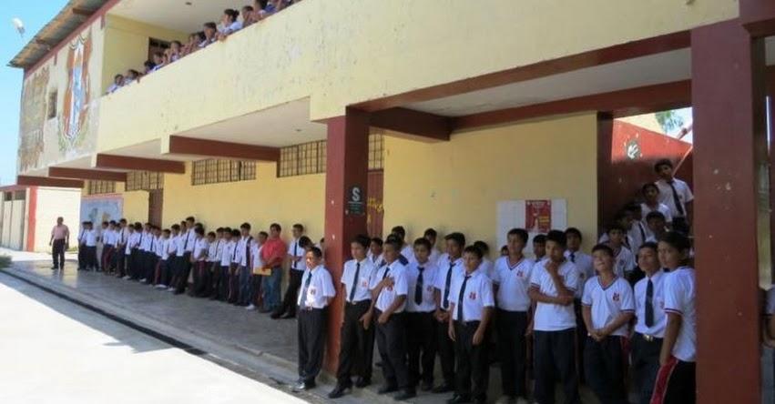 GRE Lambayeque: Sensibilizan a 15 mil escolares sobre el peligro de las drogas