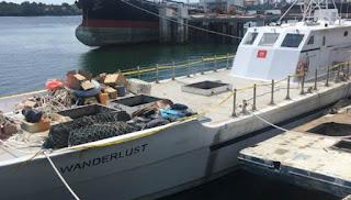 Kapal Wanderlust Berlayar Hampir Satu Bulan Untuk Kirimkan Sabu Satu Ton