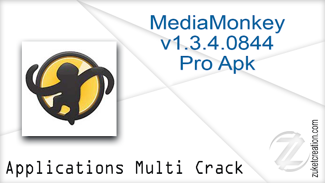MediaMonkey v1.3.4.0844 Pro Apk