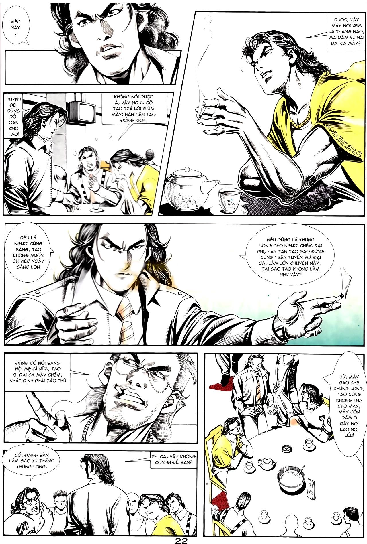 Người Trong Giang Hồ chapter 167: tội sống khó tha trang 10