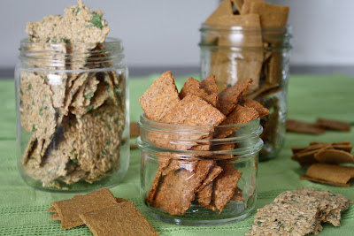 Healthy grain free crackers