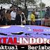 Presiden RI Joko Widodo Berlumuran Darah Saat Memanen Udang Di Muara Gembong Jabar