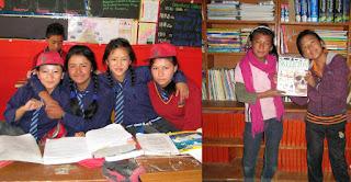 Schulkinder der Rigjung Public School, Ladakh