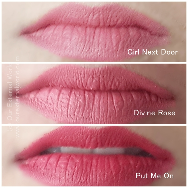 FACES Ultime Pro Matte Lip Crayons: Put-Me-On Divine-Rose and Girl-Next- Door Swatches & Ultime Pro Matte Lip Crayons: Put-Me-On Divine-Rose and Girl-Next ... Pezcame.Com