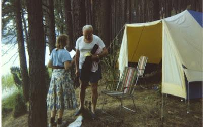Pope JP2 camping