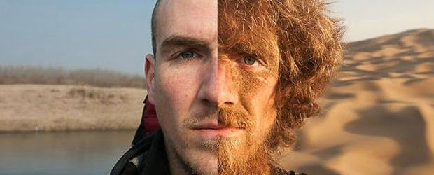 Man Walks Nearly 3000 Miles Through China. His Before & After Photos Will Shock You.