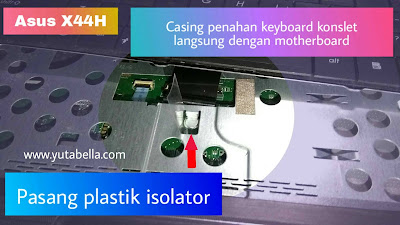 Layar LCD Laptop Asus kedip-kedip