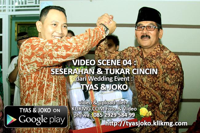 Scene 04 : Siraman TYAS PUTU SASIH, S.Farm Apt berikut Seserahan & Tukar Cincin | Klikmg Video Shooting Purwokerto