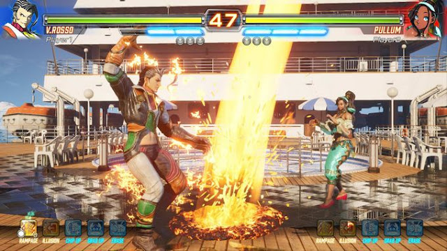 screenshot-2-of-fighting-ex-layer-pc-game