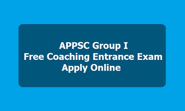 APPSC Group I Free Coaching Entrance Exam