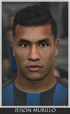 PES 2017 Jeison Murillo Face