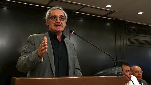 Ομιλία Νίκου Χουντή στην Τρίπολη για τις πολιτικές εξελίξεις και την πρόταση της ΛΑΕ