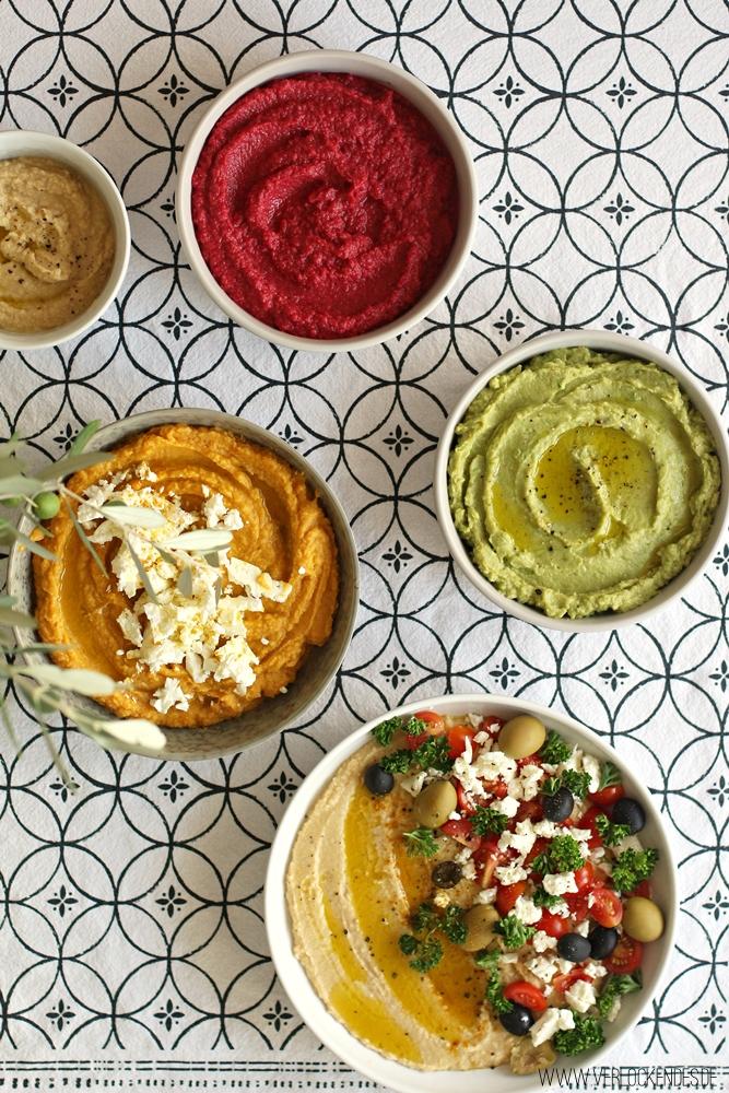 Einfache  Hummus Rezepte
