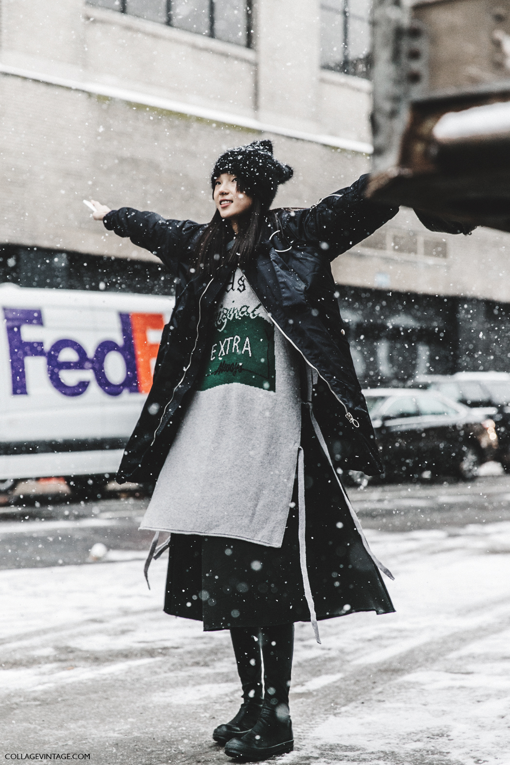 Street Style New York Fashion Week February 13 2016 Fall Winter 2016 17 Cool Chic Style