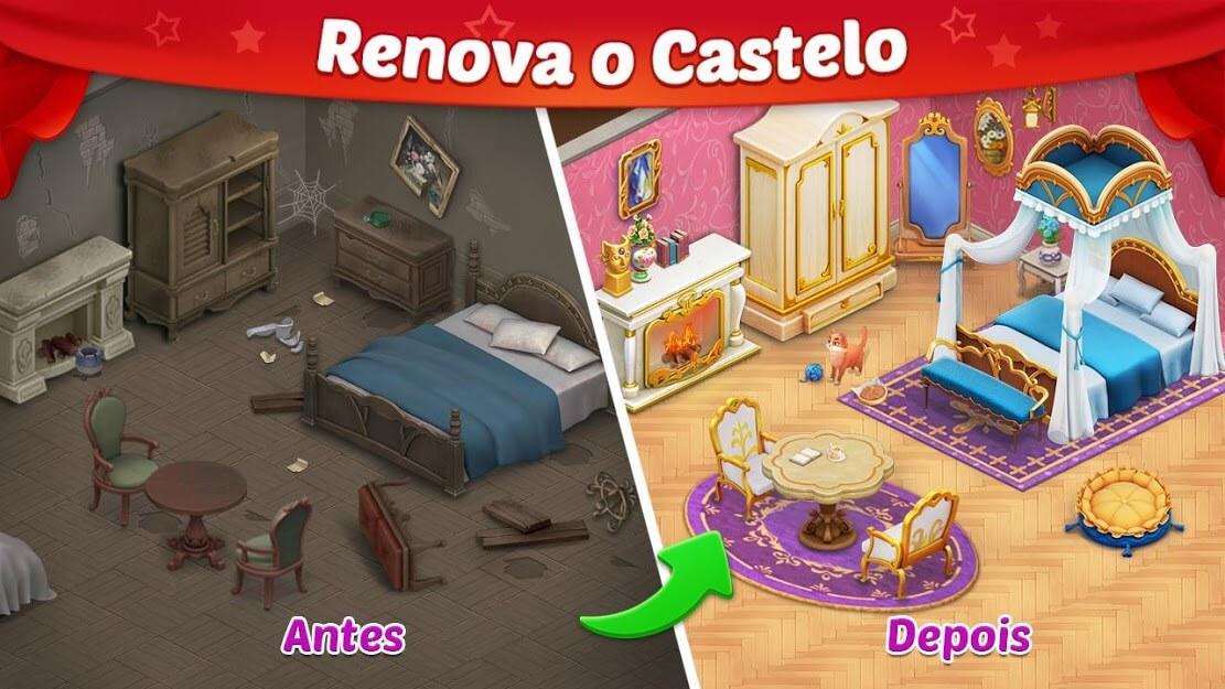 Castle Story Puzzle & Escolha MOD Pergaminhos Grátis v 1.35.3